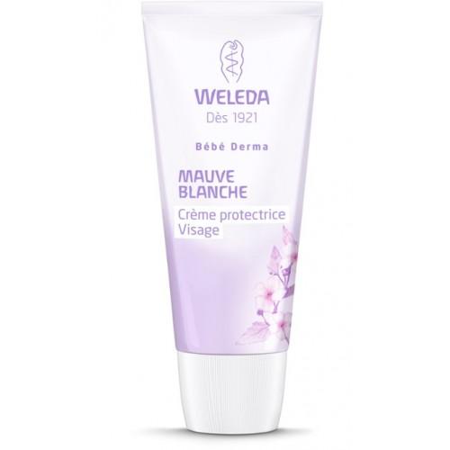 Crème protectrice visage Mauve blanche