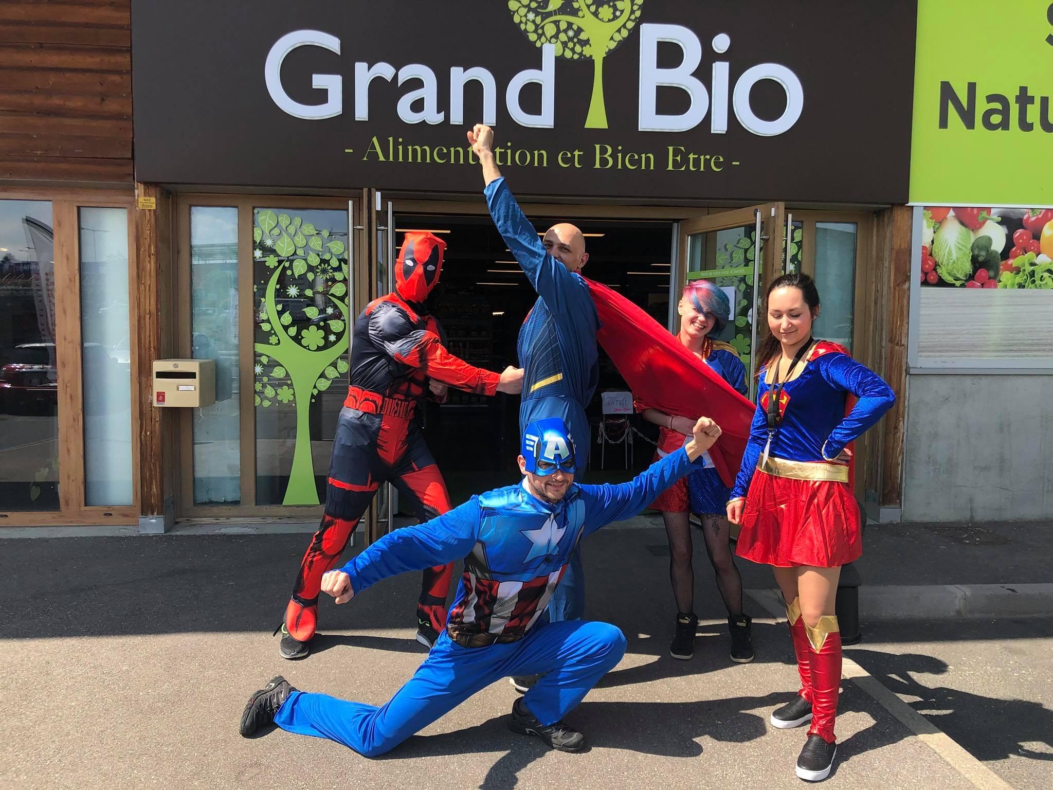 equipe du magasin Grand Bio Epinal